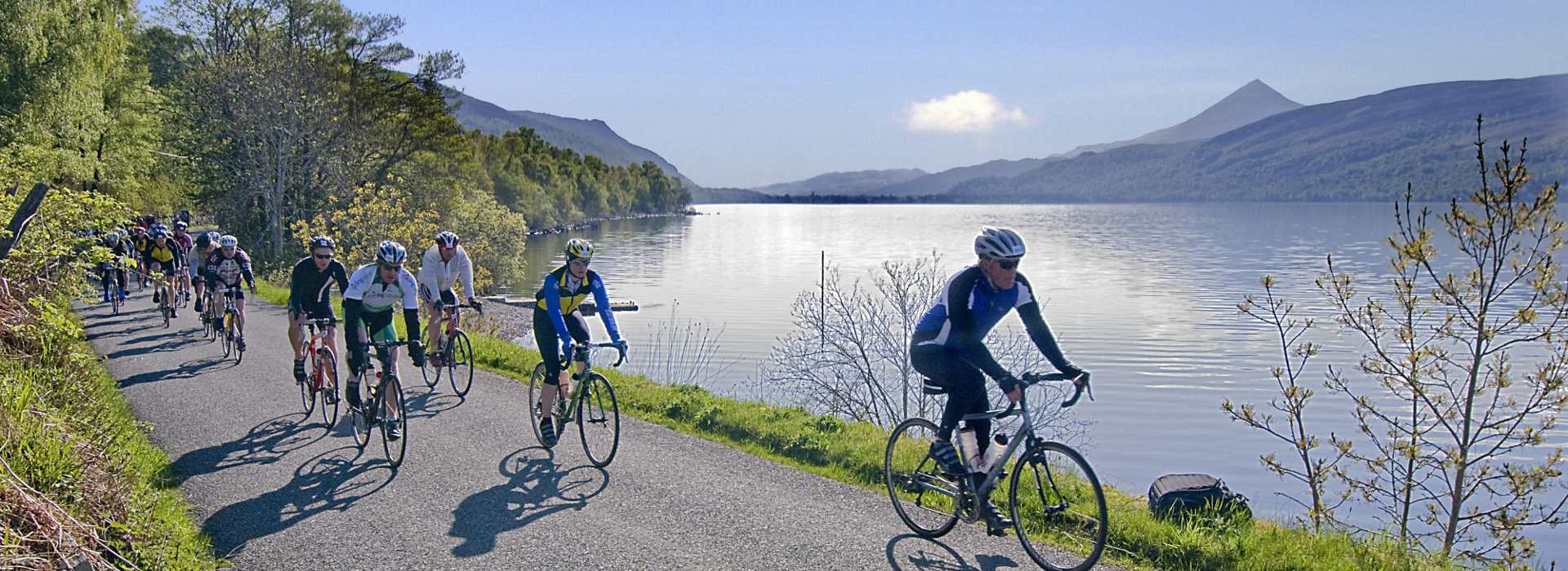 Highland Perthshire cycling and mountain biking